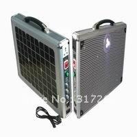 / 15 Вт ультра портативный солнечную систему для дома с прямым из светодиодов освещения и зарядное устройство функция