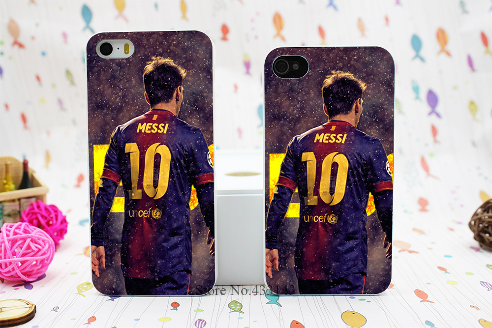 Messi Athlete Sports Stars Series Protective Style Hard White Skin Case Cover iPhone 5 5s 5g  -  Shenzhen ZhuoYou Technology Co.,LTD store