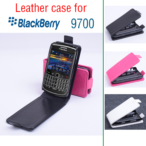 For Blackberry 9700 Case, New High Quality Genuine Filp Leather Cover Case For Blackberry9700 case Free Shipping(China (Mainland))