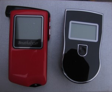 Portable alcohol tester detector drunk driving(China (Mainland))