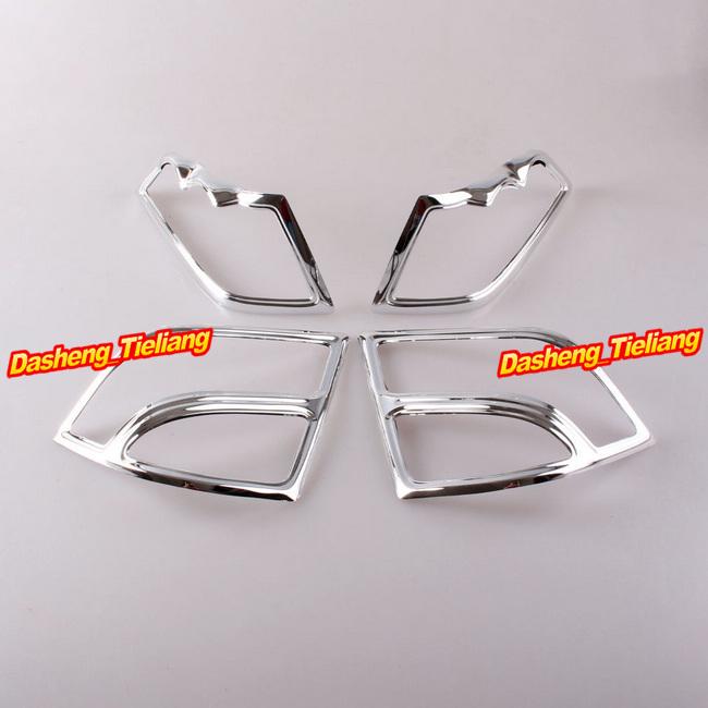 Fairing Saddlebag Light Accents Honda Goldwing GL1800 2001-2011 Decoration Boky Kits Chrome