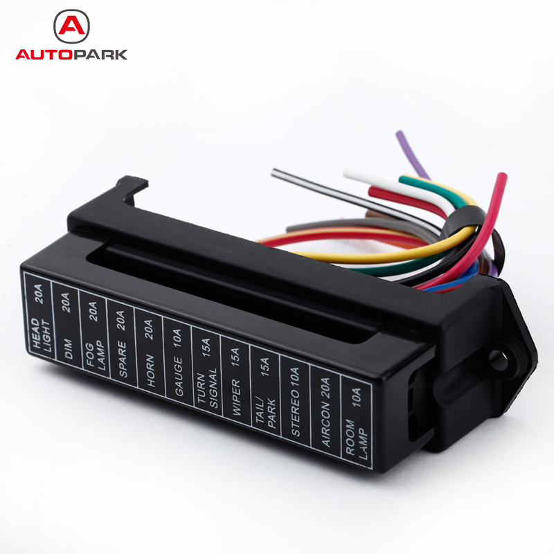 12 Way DC 12V Volt Fuse Box 24V 32V Circuit Car Trailer Auto Blade Fuse Box search on aliexpress com by image  at creativeand.co