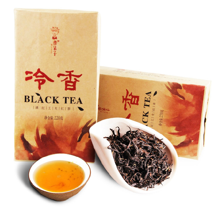 Гаджет   Wholesale 2015 Bookworm Yunnan Fengqing Dianhong Red Tea 220g Special Grade Kungfu Black Tea None Еда