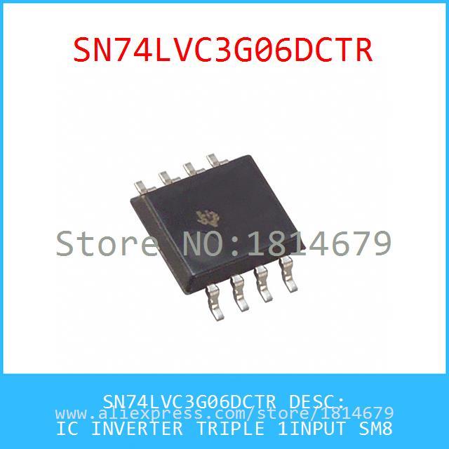 схемы SN74LVC3G06DCTR IC