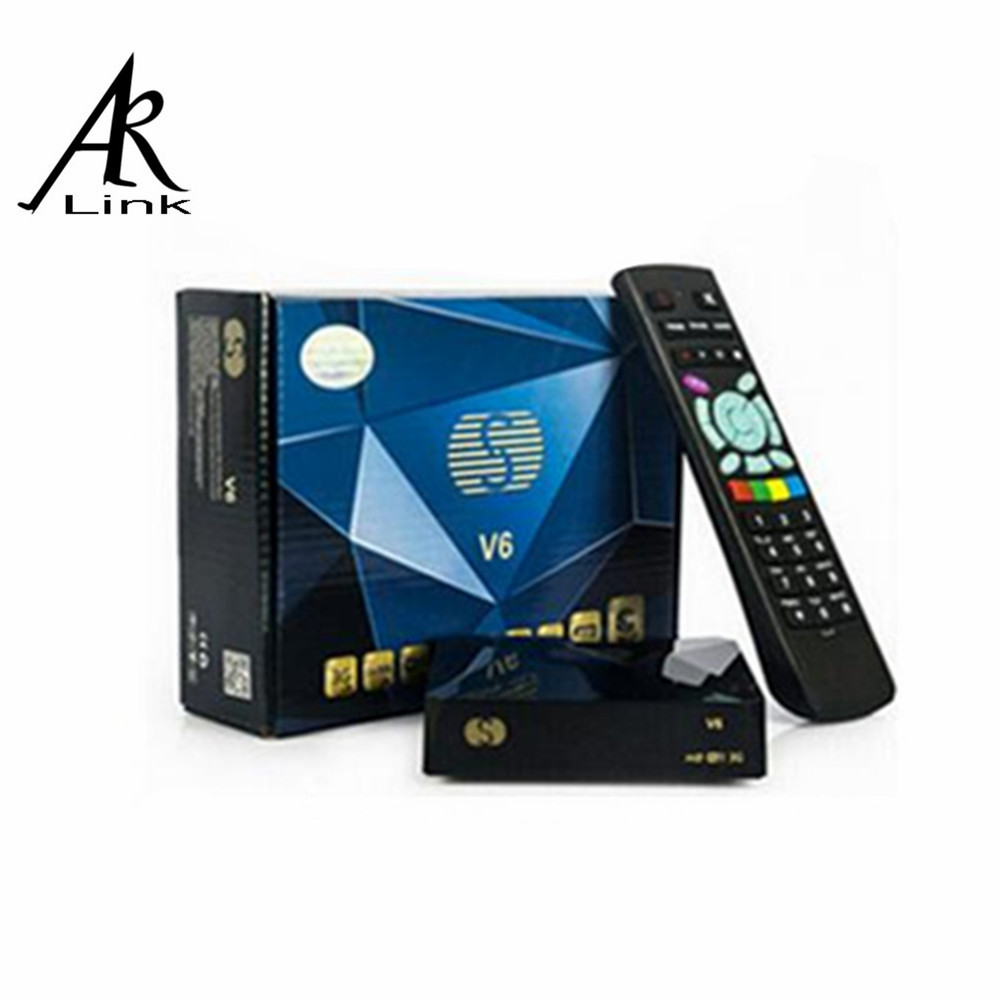 1pc Original S-V6 Mini HD Satellite Receiver V6 S Support CCCAMD Newcamd WEB TV USB Wifi 3G Biss Key Youporn Free Shiping(China (Mainland))