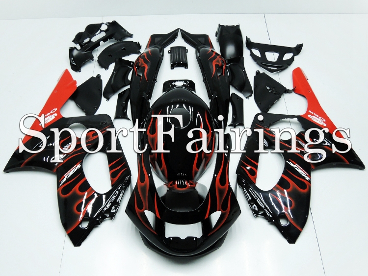 Fit Yamaha YZF600R Thundercat Year 97-07 Fairing Kit ABS Bodywork Motorcycle Parts Motor Carene Color Black Red Fire New(China (Mainland))