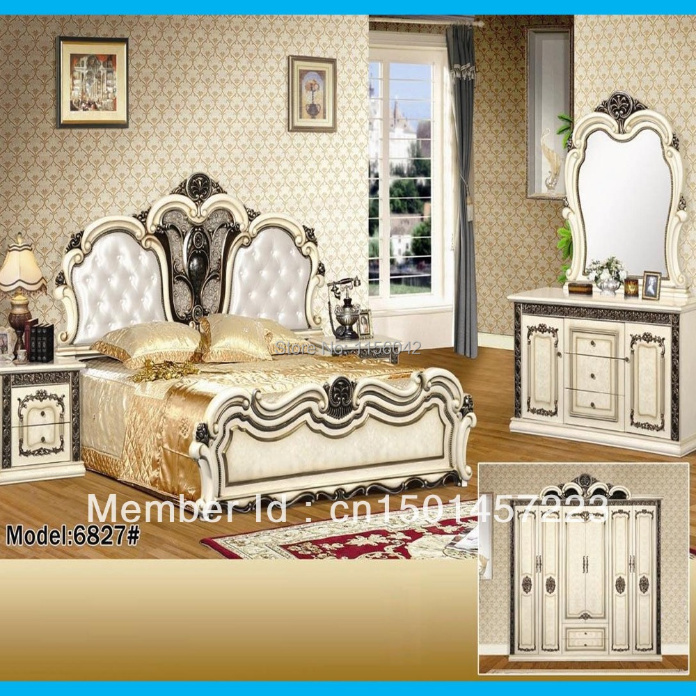 2014 New Design European Style Bedroom Furniture Bedroom
