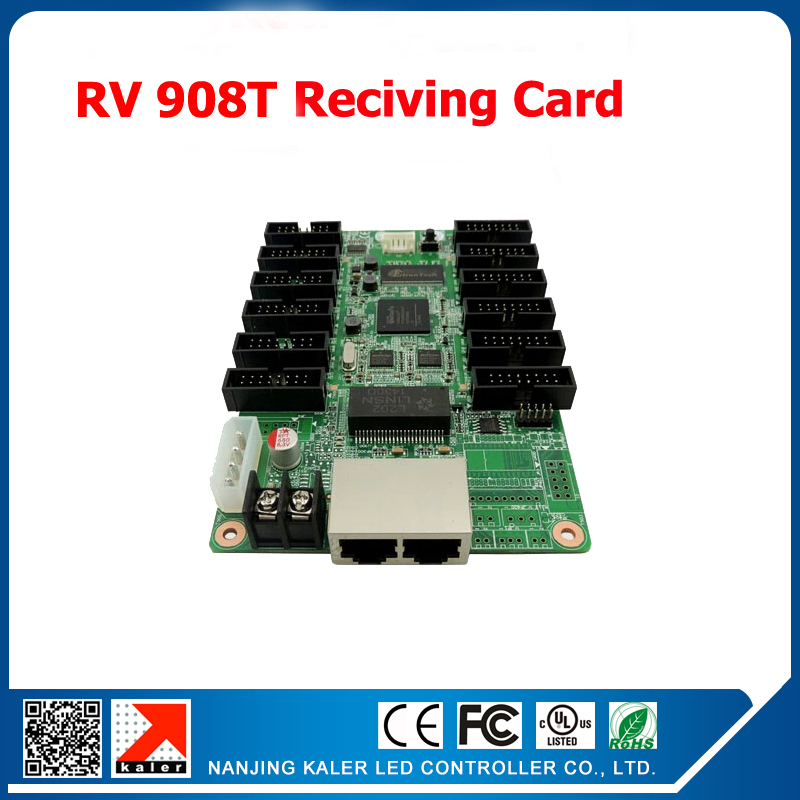 Synchronous LINSN RV908T Receiving Card with TS802 LED display sending card Support Big Advertising Screen Display Control Card(China (Mainland))
