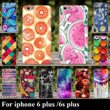 For iphone 6 Plus For iphone 6s Plus Case Hard Plastic Cellphone Mask Case Protective Cover Housing Skin Mask