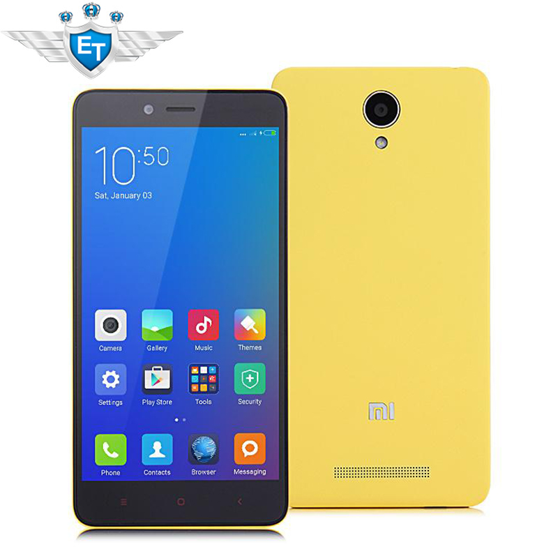 Original Xiaomi Mi Redmi Note 2 4G LTE Cell Phone MTK Helio X10 Octa Core 5.5 inch 1920x1080 2GB RAM 16GB ROM 13MP Android 5.0(China (Mainland))