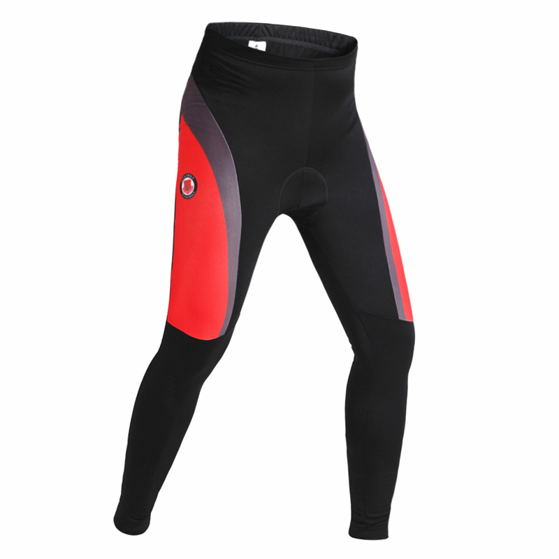 WOLFBIKE Unisex Cycling Padded Pants Windproof Fleece Thermal Pants Bike Windbreak Tights Bicycle clothing pantalones ciclismo<br><br>Aliexpress