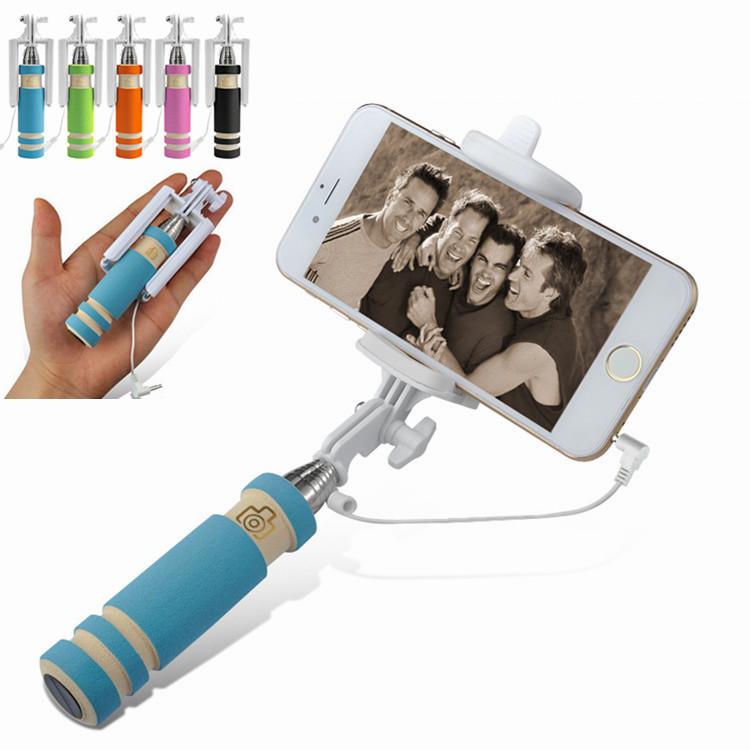 Phones & Accessories New Arrival super portable mini Self Selfie Stick case For iphone 4 5 6 samsung Camera Monopod Tripod cover(China (Mainland))