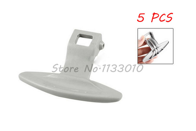 Promotional Equipment Replacement Plastic Door Hand Latch for Front Load LG Washing Machine 5 Pcs(China (Mainland))