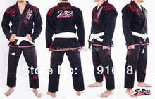 2014 New Design Sunrise Super Cool Python BJJ Gi Black Brazilian Jiu Jitsu Gi BJJ Kimono(China (Mainland))