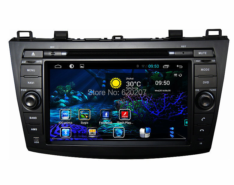 Android 4.4 car audio DVD navigation for Mazda 3 (2010-2011),Multimedia,Capacitive screen,3g, wifi,Built-in wifi dongle(China (Mainland))