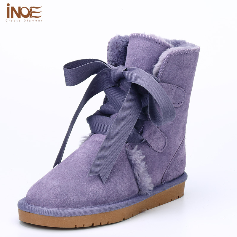 New drum cowhide boots is a bind in snow boot winter antiskid wa
