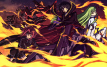 Free shipping CODE GEASS ZERO LELOUCH Japan Anime Poster printed silk wall decoration 12×18 24x36in(1450058460515)