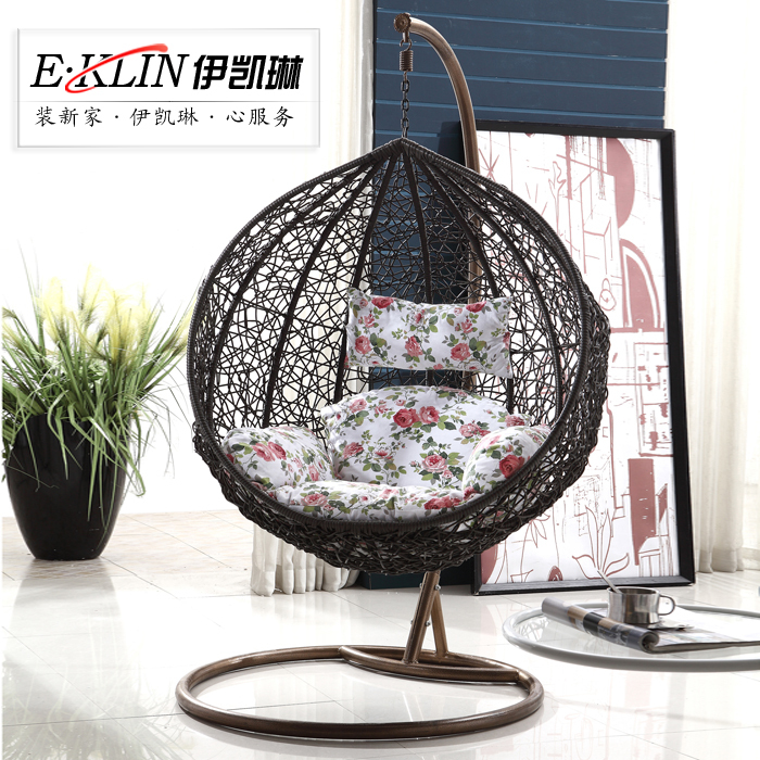 gartenm bel casual rattan h ngen korb rattan stuhl. Black Bedroom Furniture Sets. Home Design Ideas