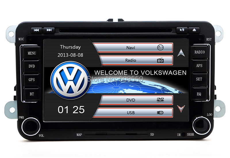 "2din 7""screen Built-in canbus Car DVD with GPS Navigation for VW JETTA PASSAT/B6/CC GOLF 5/6 POLO Touran Tiguan Caddy SEAT(China (Mainland))"