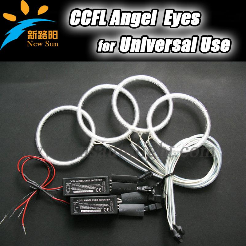 CCFL Angel eyes 75mm 80mm 90mm/100mm/105/110mm/115mm/120mm/126mm/140mm/145mm Eyes rings inverters - Nanjing Newsun store