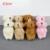 H-4.5cm  Mini Stuffed Jointed Bear,Teddy Bear Long wool bears,plush toys for cartoon bouquet 4color  100pcs/lot