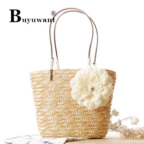 Delicate small twist straw bag Fashion small hand bag woven beach Straw Bag Series Women Topes Bag Series(China (Mainland))