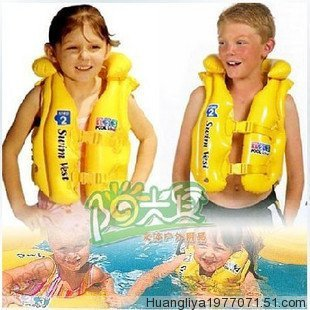Intex child life vest adjustable buckle swimming vest swimwear 3 - 6