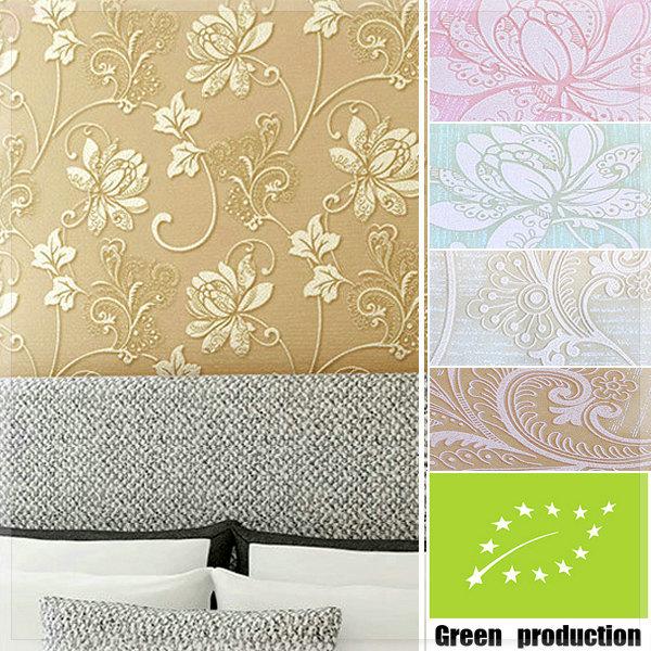 Modern Garden Bedroom Design Style Wallpaper Fashion Wood