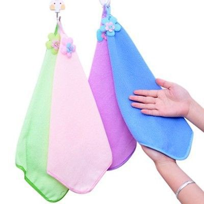 12Pcs Super Absorbent Microfiber Washcloth Hand Towel Hair Bath Beach Sport Large(China (Mainland))