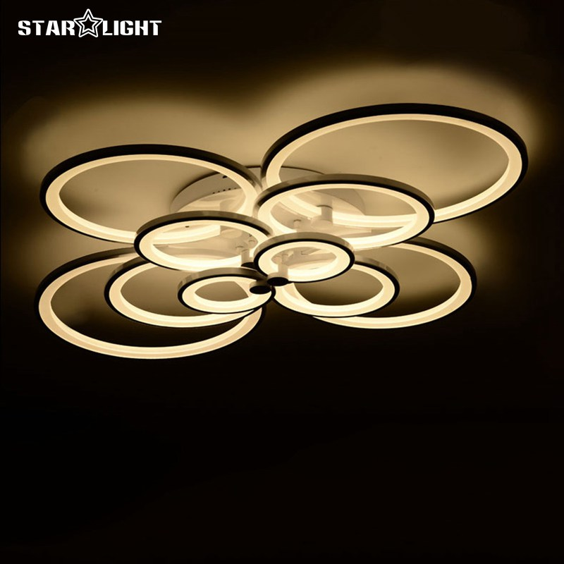 Surface Mounted Modern Led Ceiling Lamp For Living Room Plafond Lamp Light fixtures Ceiling avize(China (Mainland))