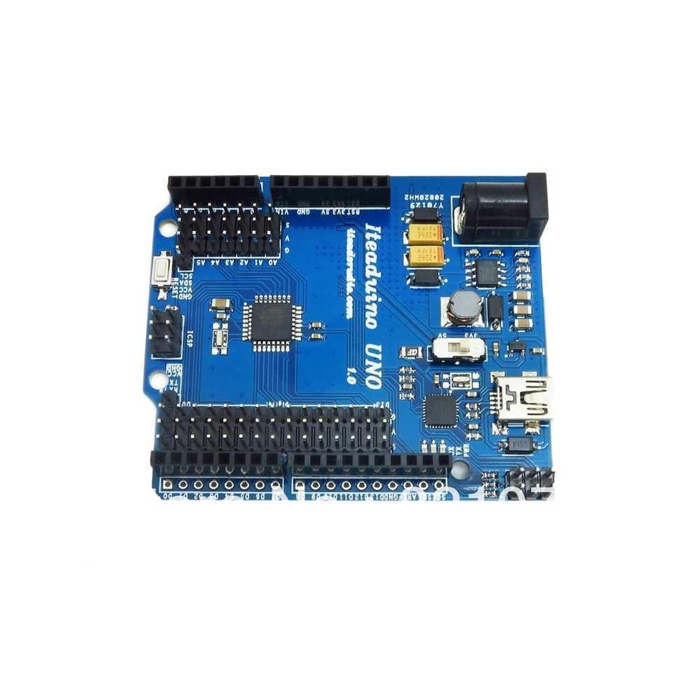 DIY Development Platform Arduino UNO ATMega328P Microcontroller USB Connecting Senor/Servo Field Application - Shenzhen HongLu CO. LTD. store