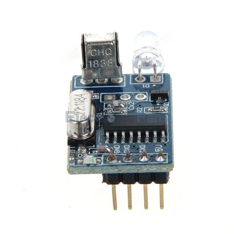 Гаджет  5V IR Infrared Remote Decoder Encoding Transmitter&Receiver Wireless Module None Электронные компоненты и материалы