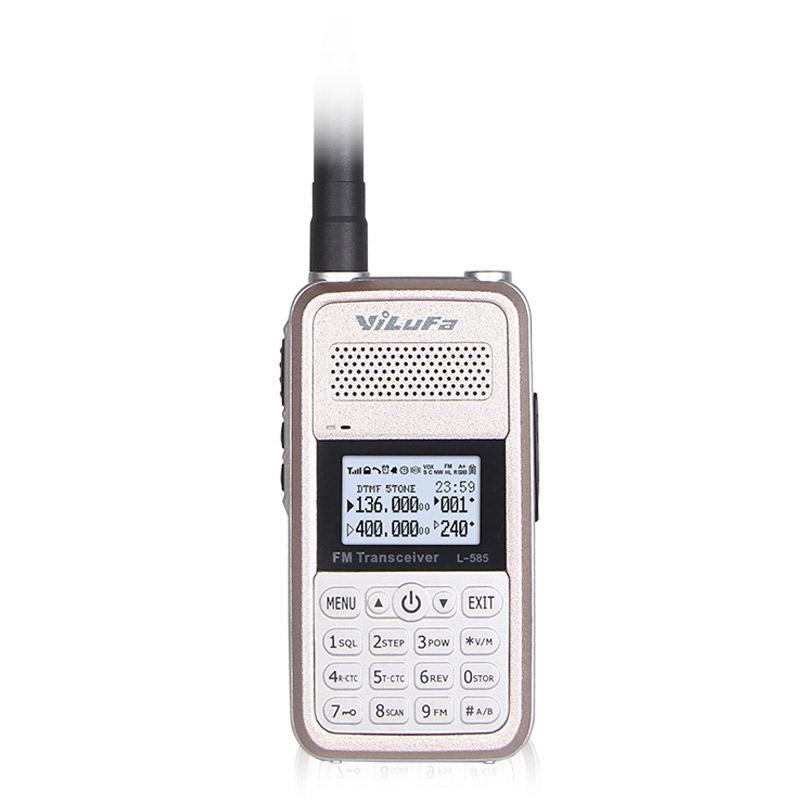 YILUFA Mini Walkie Talkie 8W High Power Portable Two Way Radio VHF UHF UV Dual Band PTT Ham Transceiver(China (Mainland))