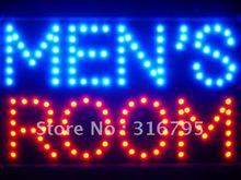 led069-b Men's Room Man Male Toilet LED Neon Sign Wholesale Dropshipping(China (Mainland))