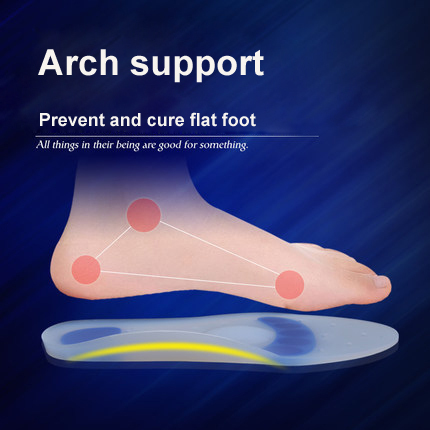 Arch Support Silicone Insoles Health Foot massager Silicone Pad Spurs Achilles Tendon Fasciitis Treating Foot Care Insoles<br><br>Aliexpress