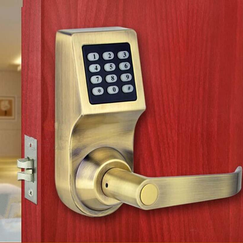 digital code induction door lock, lock+induction card +key +