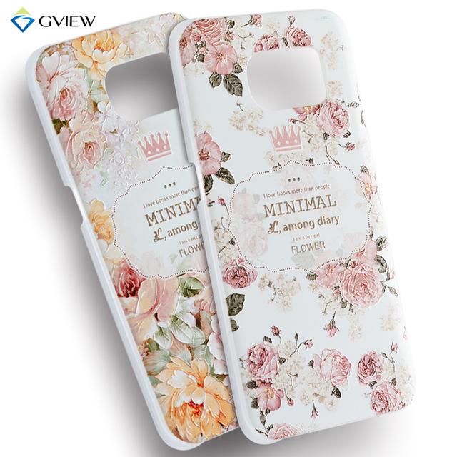 Для Samsung Galaxy S7 край чехол 3D мультфильм жесткий пластмассовый чехол для Samsung S7 край G935A G935F G9350 мода подарок