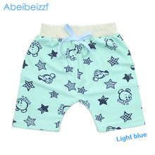 2016 Summer infant Harem Pants Fashion Baby Kids Pant Children Cartoon Cotton boys Trousers Bears Character free shipping