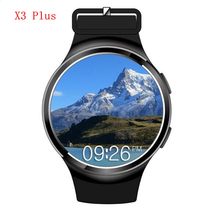 Buy X3 Plus Smart Watch Intelligent Clock Heart Rate Monitor GPS/AGPS 2G/3G Smartwatch Wristwatch Android 5.1 Bluetooth Wristwatch for $116.57 in AliExpress store