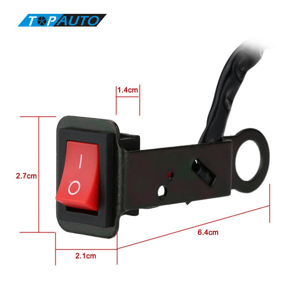 Universal Motorcycle Switch Electric Bike On/Off Power Control ATV Motorcycle Handlebar Switch button Light DIY Switch Bracket(China (Mainland))
