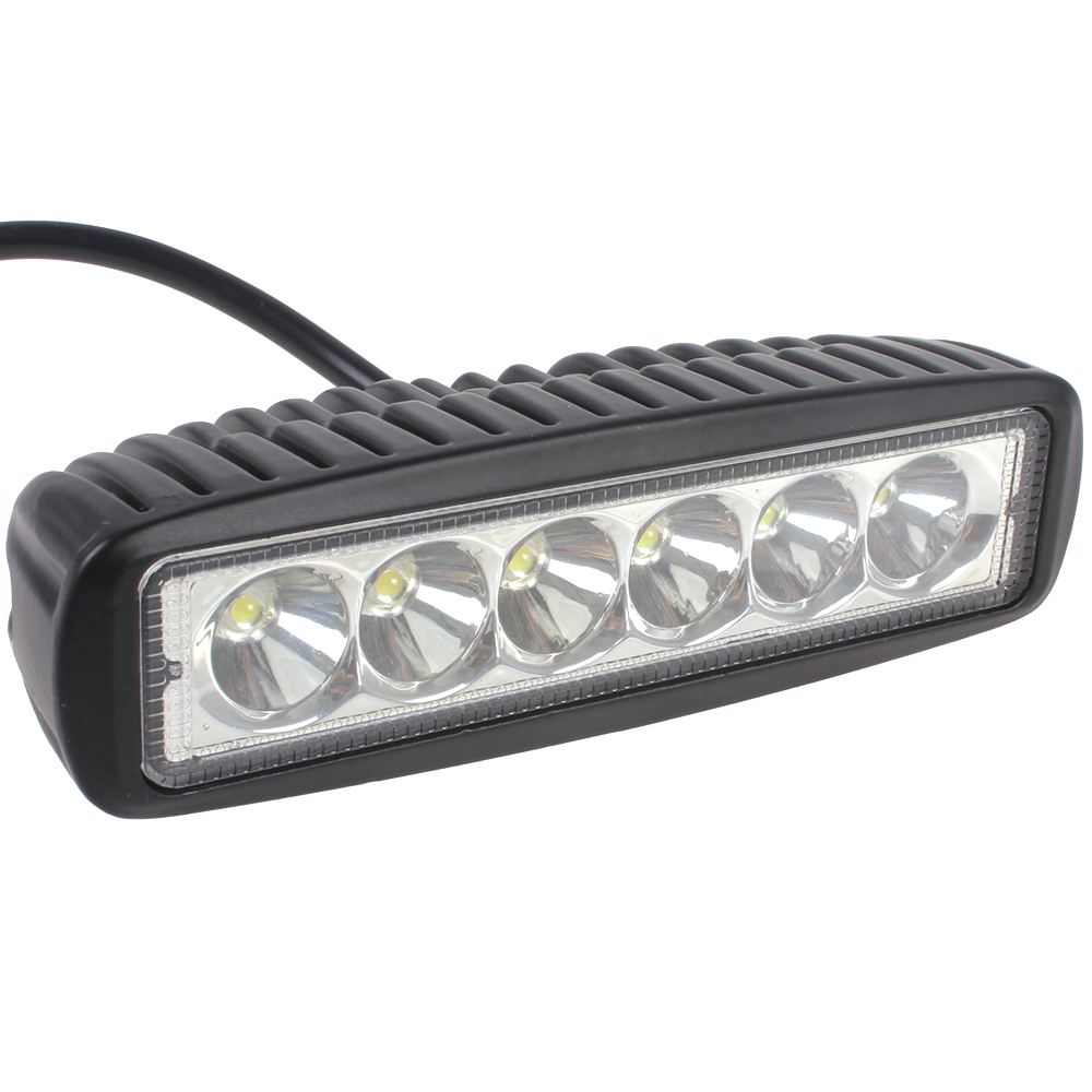 High Power 6 Inch 18W 6 x 3W Car CREE LED Light Bar as Worklight / Flood Light / Spot Light for Boating / Hunting / Fishing(China (Mainland))