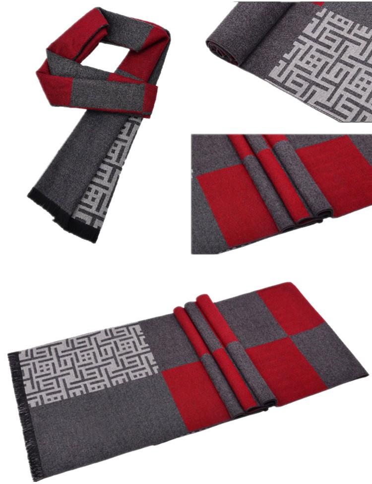 2017 newest top quality fashion style brand scarf 180*30cm bufandas spring autumn winter scarf men outdoor necessary men echarpe