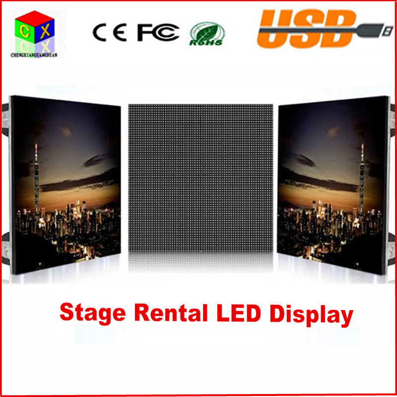 Indoor Aluminum die-casting led screen 640 * 640 mm P5 indoor RGB 7 Color rental LED display for stage setting wall led display(China (Mainland))