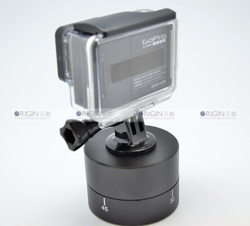 Time Lapse 360 Auto Rotation Pan Rotation Scene lapse for GoPro Hero3+/Hero3/Hero2/Hero<br><br>Aliexpress