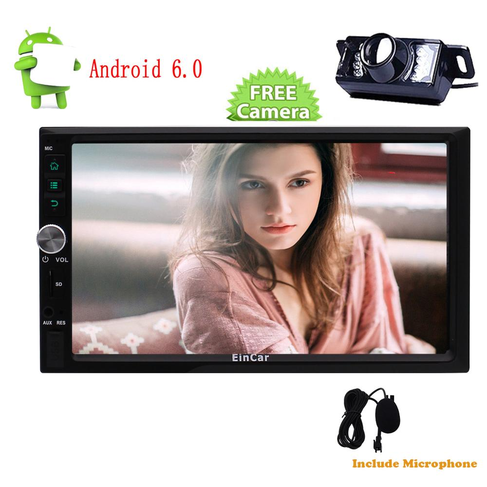 Android 6.0 1024*600 two 2Din In Dash Car gps Radio Stereo GPS Navigation Autoradio Bluetooth USB/SD Wifi 4G/3G Mirror Link OBD2