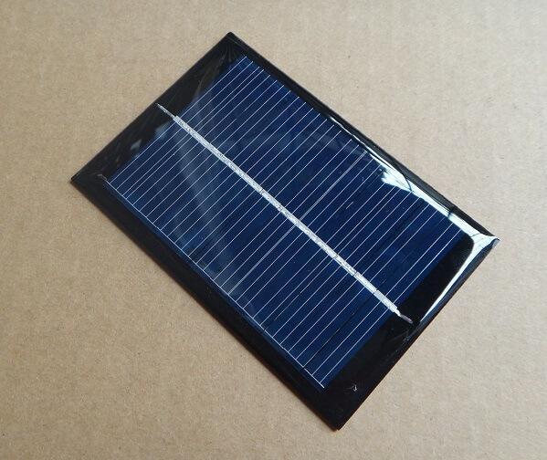 20pcs 0.6W 6V 90*60*3mm Epoxy resin mini solar panel solar charger <br><br>Aliexpress