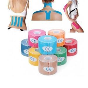 12 Colors two style 5cm x 5m Sports Kinesiology Tape Kinesio Roll Cotton Elastic Adhesive Muscle Bandage Strain Injury Support(China (Mainland))