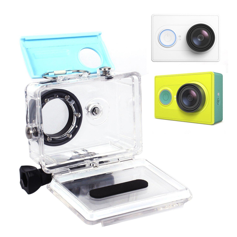 Xiaomi Yi Waterproof Case 40M Underwater Diving Sports Waterproof Box For Xiaomi yi Action camera Blue