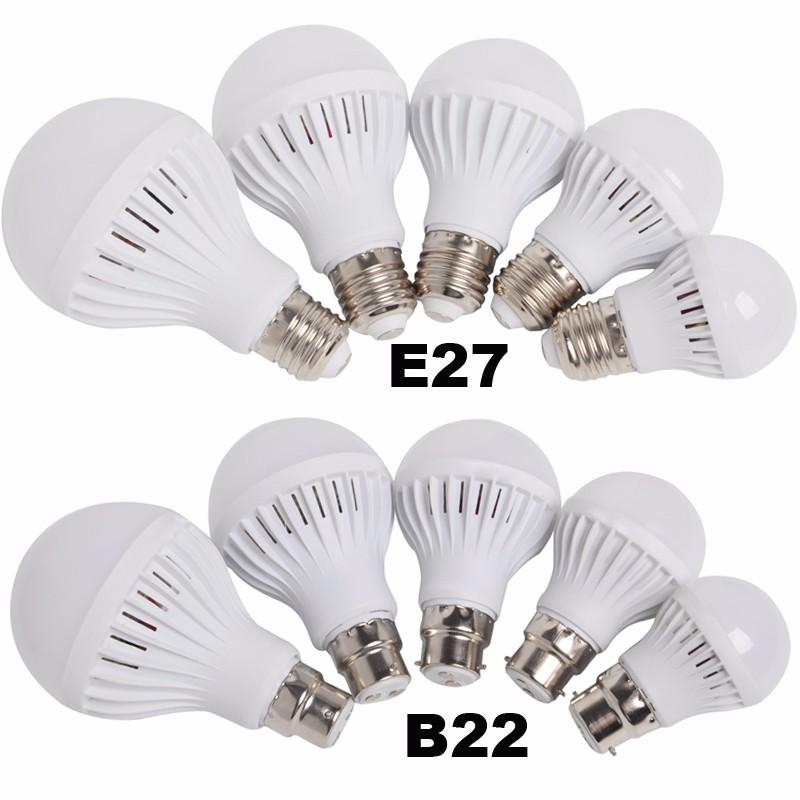 LED BULB E27 B22