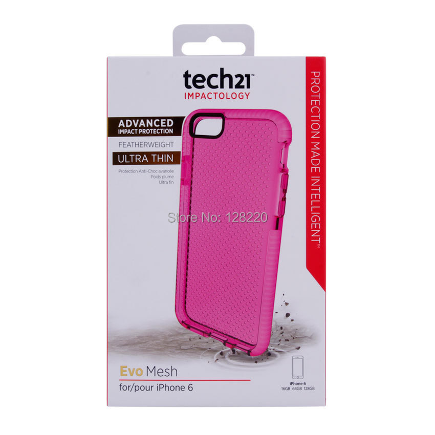 Retail Tech 21 Case iphone 6/6plus TPU Soft D30 Ultra Thin Back Cover TECH21 Cases retail package - Special Zone Trading Co.,Ltd store